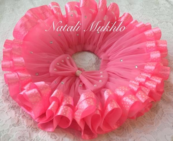 Pink Birthday Tutu Skirt, Cake Smash Tutu, Lollipop Candyland Baby Girl 1st Birthday Tutu